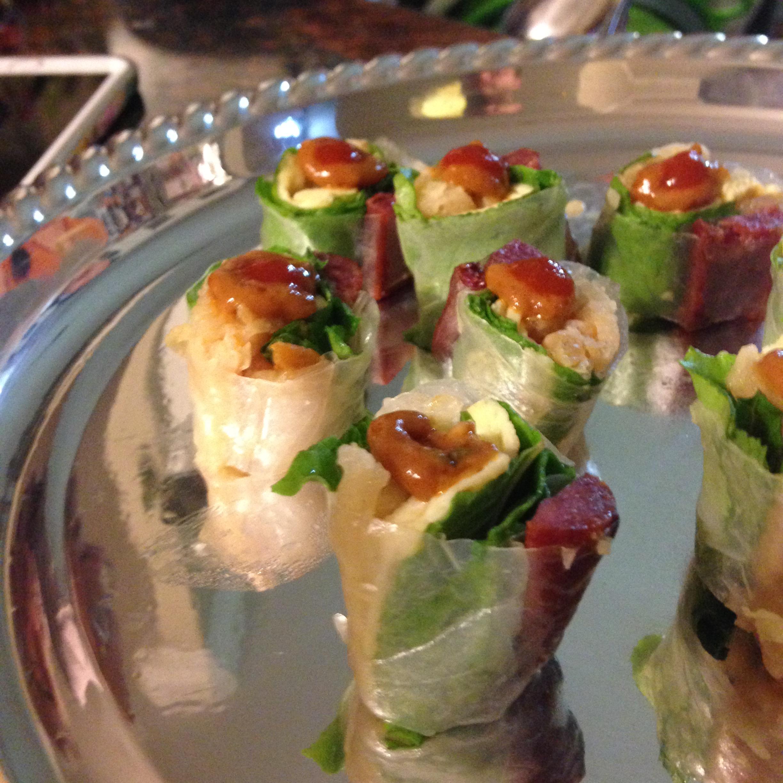Cambodian-Style Spring Rolls Recipe — Dishmaps