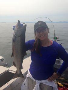 King Salmon and Trish