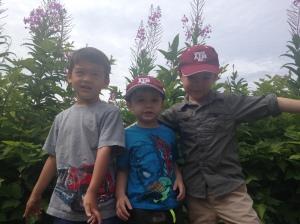 the boys at totem bight